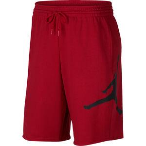 Logo Basketballshorts Herren, rot / schwarz, zoom bei OUTFITTER Online