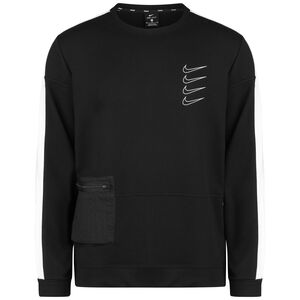 Defect Project X Fleece Sweatshirt Herren, schwarz / weiß, zoom bei OUTFITTER Online