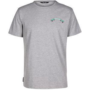 DC Burning Eagle T-Shirt Herren, grau / türkis, zoom bei OUTFITTER Online
