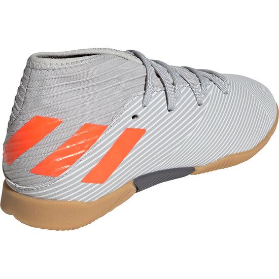Nemeziz 19.3 Indoor Fußballschuh Kinder, grau / orange, zoom bei OUTFITTER Online