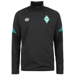 SV Werder Bremen Drill Trainingssweat Herren, schwarz / grün, zoom bei OUTFITTER Online