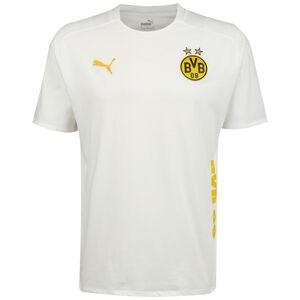 Borussia Dortmund BVB Casuals T-Shirt Herren, weiß / gelb, zoom bei OUTFITTER Online