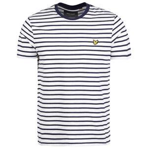 Breton Stripe T-Shirt Herren, dunkelblau / weiß, zoom bei OUTFITTER Online