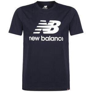Essentials Stacked Logo T-Shirt Herren, schwarz, zoom bei OUTFITTER Online