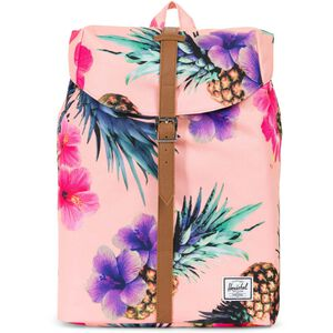 Post Mid-Volume Rucksack, rosa / bunt, zoom bei OUTFITTER Online