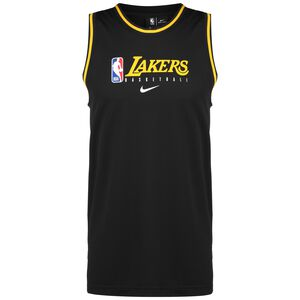 NBA Los Angeles Lakers Dry DNA Tanktop Herren, schwarz / gelb, zoom bei OUTFITTER Online