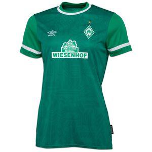 SV Werder Bremen Trikot Home 2021/2022 Damen, grün / weiß, zoom bei OUTFITTER Online