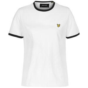 Ringer T-Shirt Damen, weiß / schwarz, zoom bei OUTFITTER Online