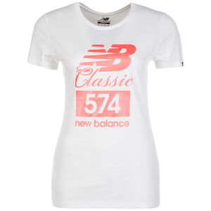 Essentials 574 T-Shirt Damen, Weiß, zoom bei OUTFITTER Online