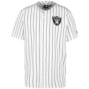 NFL Las Vegas Raiders Pinstripe Trikot Herren, weiß / schwarz, zoom bei OUTFITTER Online
