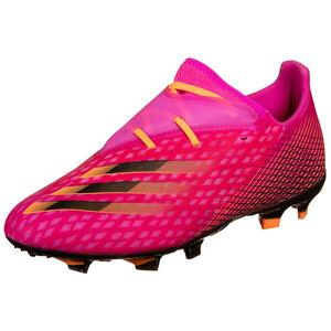 X Ghosted.2 FG Fußballschuh Herren, pink / orange, zoom bei OUTFITTER Online