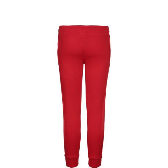 Swoosh Fleece Jogginghose Kinder, rot / weiß, zoom bei OUTFITTER Online