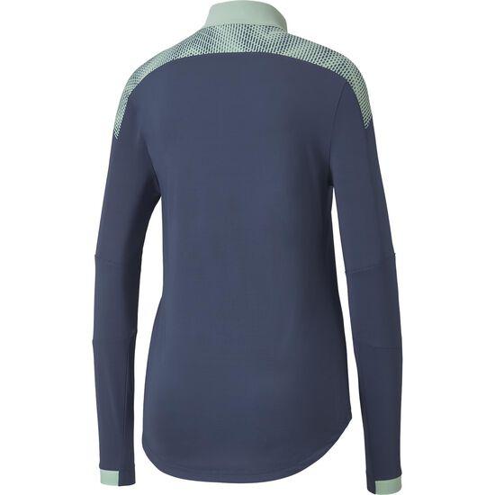 ftblNXT 1/4 Zip Trainingssweat Damen, blau / mint, zoom bei OUTFITTER Online