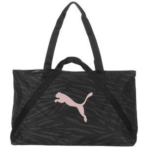 Essential Shopper Henkeltasche Damen, schwarz / rosa, zoom bei OUTFITTER Online