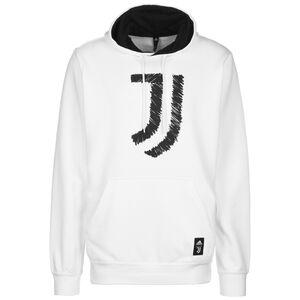 Juventus Turin DNA Kapuzenpullover Herren, weiß / schwarz, zoom bei OUTFITTER Online