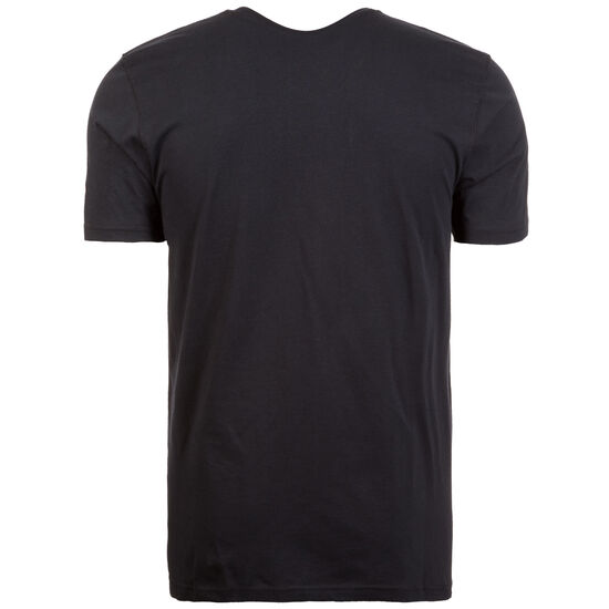 NBA Team Logo Houston Rockets T-Shirt Herren, schwarz / rot, zoom bei OUTFITTER Online
