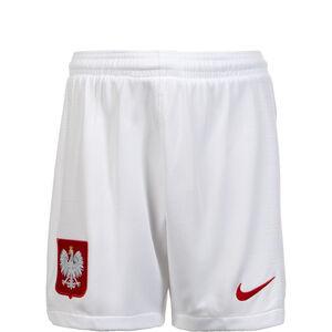Polen Short Home WM 2018 Kinder, Weiß, zoom bei OUTFITTER Online