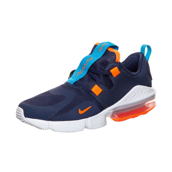 Air Max Infinity Sneaker Kinder, dunkelblau / orange, zoom bei OUTFITTER Online