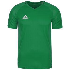 Tiro 17 Trainingsshirt Herren, grün / weiß, zoom bei OUTFITTER Online