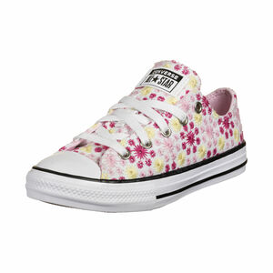 Chuck Taylor All Star Sneaker Kinder, weiß / pink, zoom bei OUTFITTER Online