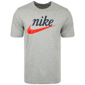 Sportswear Heritage T-Shirt Herren, grau / rot, zoom bei OUTFITTER Online