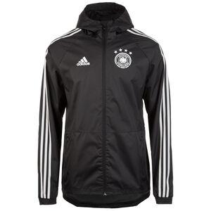 DFB Regenjacke Herren, schwarz / hellgrau, zoom bei OUTFITTER Online
