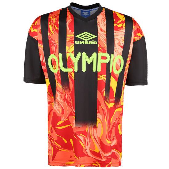 Olympio Football Jersey T-Shirt, neonrot / neongelb, zoom bei OUTFITTER Online