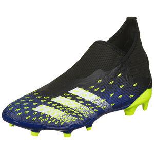Predator Freak .3 Laceless FG Fußballschuh Herren, schwarz / blau, zoom bei OUTFITTER Online