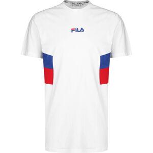 Barry T-Shirt Herren, weiß / rot, zoom bei OUTFITTER Online