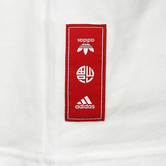 Real Madrid Chinese New Year T-Shirt Herren, weiß / silber, zoom bei OUTFITTER Online