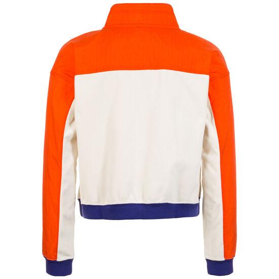 Half-Zip Polar Sweatshirt Damen, beige / rot, zoom bei OUTFITTER Online
