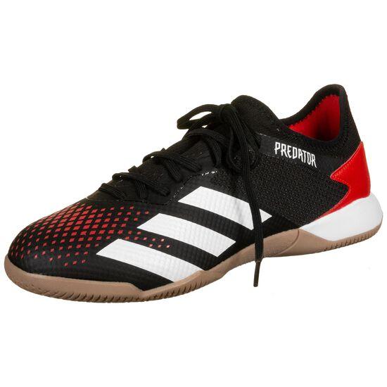 Predator 20.3 Indoor Fußballschuh Herren, rot / schwarz, zoom bei OUTFITTER Online
