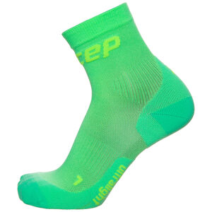 Ultralight Short Socks Kompressionssocken Herren, Grün, zoom bei OUTFITTER Online