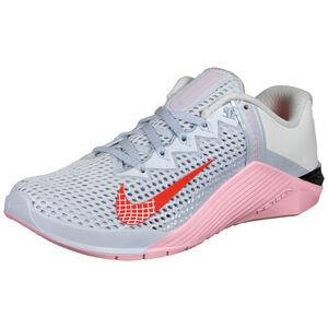 Metcon 6 Trainingsschuh Damen, grau / rosa, zoom bei OUTFITTER Online