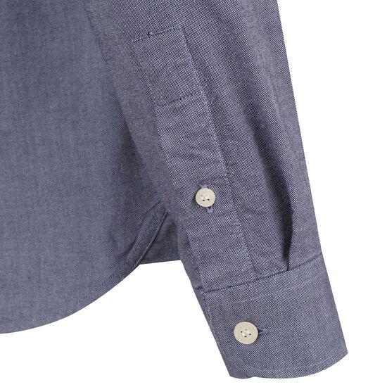 Oxford Hemd Herren, blau, zoom bei OUTFITTER Online