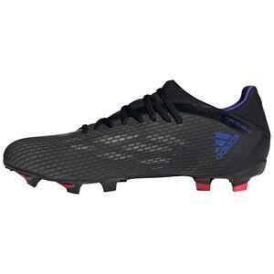 X Speedflow.3 FG Fußballschuh Herren, schwarz / blau, zoom bei OUTFITTER Online