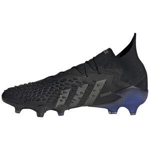 Predator Freak .1 FG Fußballschuh Herren, schwarz / blau, zoom bei OUTFITTER Online
