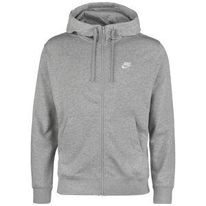 Sportswear Club Kapuzenjacke Herren, grau / weiß, zoom bei OUTFITTER Online