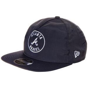 9FIFTY MLB Taslan Emblem Atlanta Braves Cap, Blau, zoom bei OUTFITTER Online