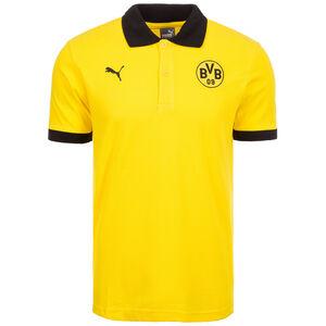 Borussia Dortmund Badge Poloshirt Herren, Gelb, zoom bei OUTFITTER Online