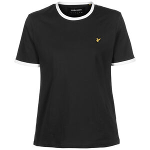 Ringer T-Shirt Damen, schwarz / weiß, zoom bei OUTFITTER Online