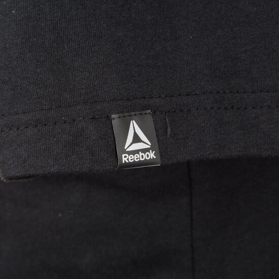 CrossFit Camo Logo Trainingsshirt Herren, schwarz, zoom bei OUTFITTER Online