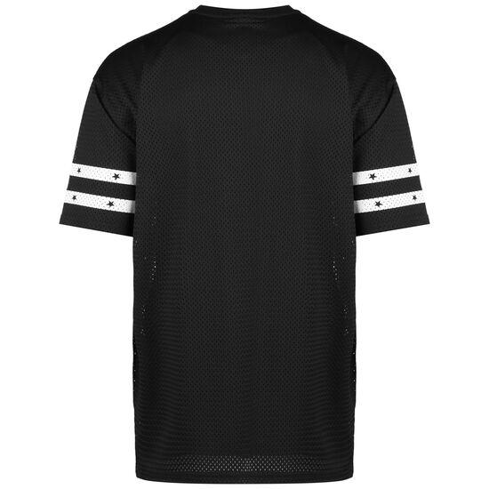 NFL Oakland Raiders Stripe Sleeve Oversized T-Shirt Herren, schwarz / weiß, zoom bei OUTFITTER Online