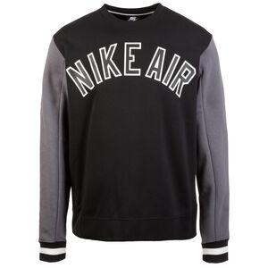 Air Crew Fleece Sweatshirt Herren, schwarz / dunkelgrau, zoom bei OUTFITTER Online
