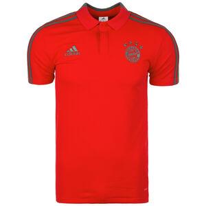 FC Bayern München Poloshirt Herren, rot / grau, zoom bei OUTFITTER Online