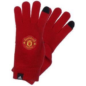 Manchester United Feldspielerhandschuhe, rot / schwarz, zoom bei OUTFITTER Online