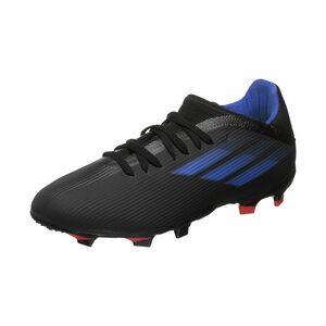 X Speedflow.3 FG Fußballschuh Kinder, schwarz / blau, zoom bei OUTFITTER Online