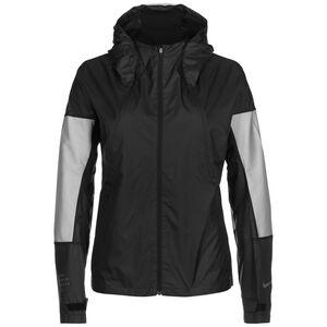 Run Division Flash Laufjacke Damen, schwarz / silber, zoom bei OUTFITTER Online