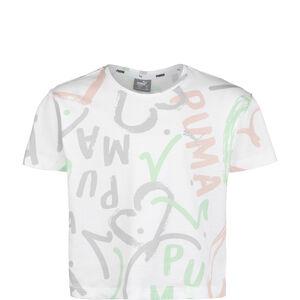 Alpha AOP T-Shirt Kinder, weiß, zoom bei OUTFITTER Online