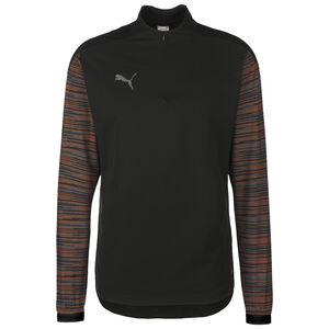 ftblNXT 1/4 Zip Sweatshirt Herren, schwarz / orange, zoom bei OUTFITTER Online